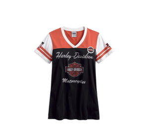 Harley-Davidson Women's Classic Colorblock Tee - 99142-17VW