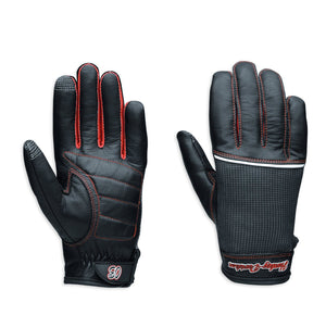 Harley-Davidson Women's Cora Leather & Mesh Full-Finger Gloves - 98295-14VW