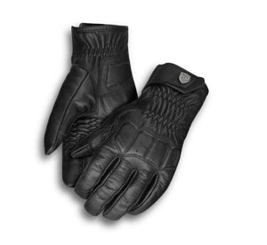Harley-Davidson Women's Fairhaven Touchscreen Leather Gloves - 98328-19VW