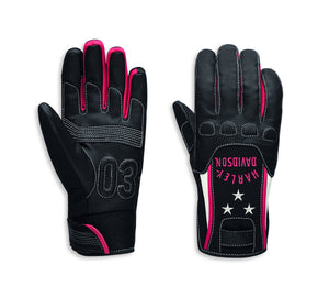Harley-Davidson Women's Flection Mixed Media Gloves - 97113-20VW