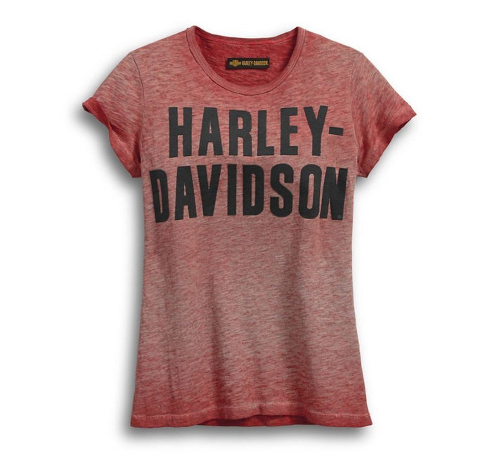 Harley-Davidson Women's Jersey Applique Tee - 99051-18VW