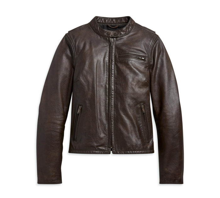Harley-Davidson Women's Leather Jacket - 97008-21VW