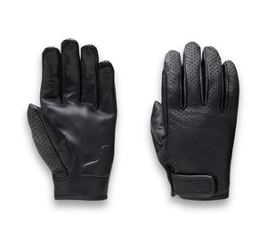 Harley-Davidson Women's Perforated Leather Glove - 97100-21NW