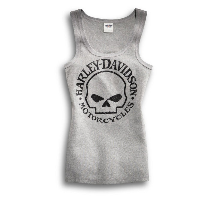 Harley-Davidson® Women's Skull Scoop Neck Tank - 99147-14VW