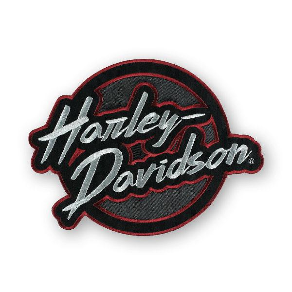 Harley-Davidson® Embroidered Edgy Emblem Patch - EM321364