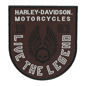 Harley-Davidson® Embroidered Forged Wings Emblem Patch - EM325392
