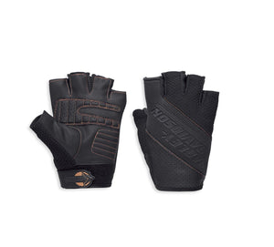 Harley-Davidson® Men's Alridge Mesh Fingerless Glove w/ Coolcore Tech 97114-18VM