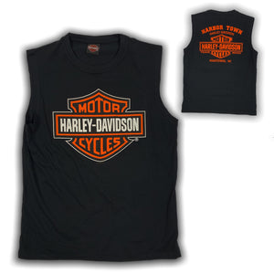 Harley-Davidson® Men's Bar & Shield Logo Sleeveless Muscle Tee, Black