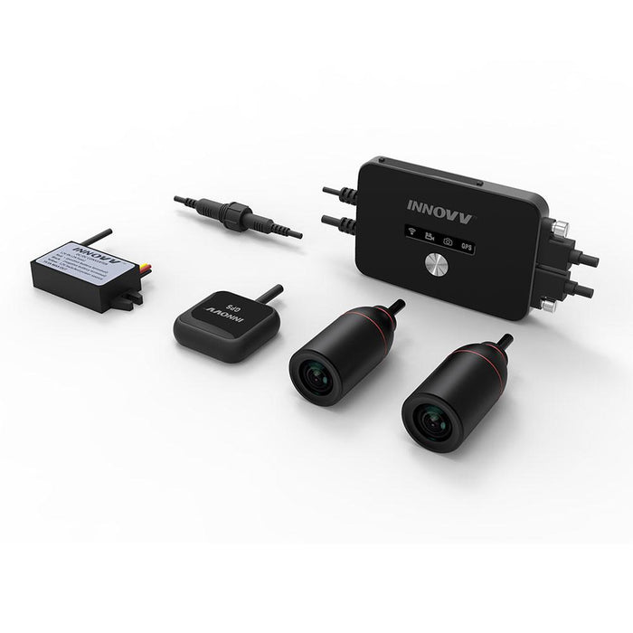 INNOVV K2 Motrcycle / ATV / UTV Dual Dash Camera system with GPS & Wifi