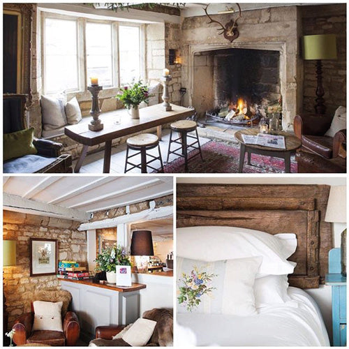 The Lion Inn at Winchcombe in the Cotswolds, perfect for a romantic getaway. Credit @stayinapub. Blog by DuoBoots