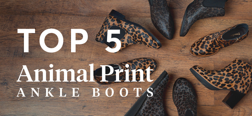 Top 5 Animal Print Ankle Boots