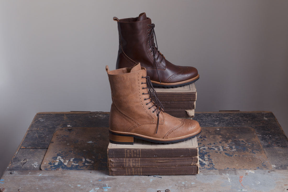 Balla Tan and Conker Brown Leather