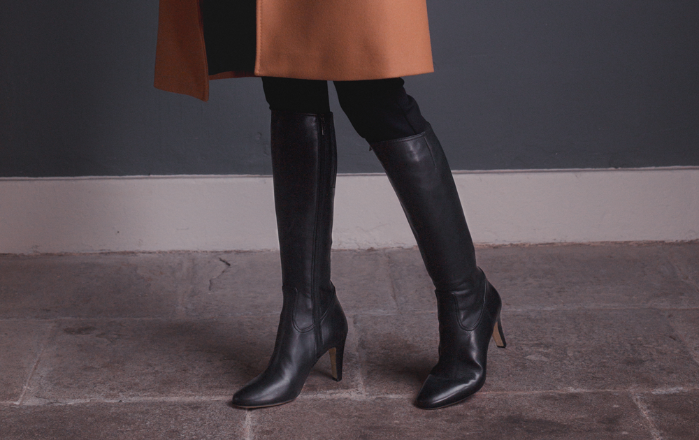 The place to go for slim calf boots