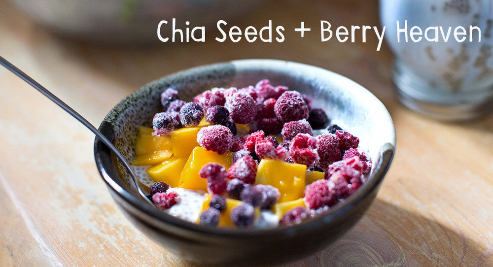 Tasty Tuesday: Chia Seeds Berry Breakfast Heaven