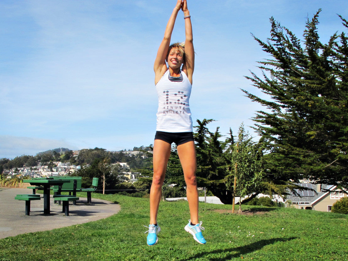 6 Workouts for Anywhere Step by Step Instruction
