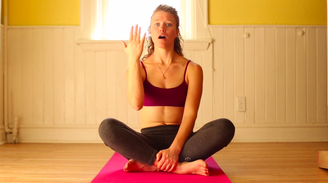 Beginner Yoga Breathing Exercise