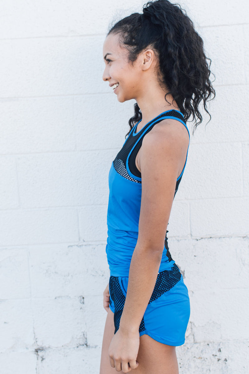 The Valley Tank AC Blue - SwoobFit