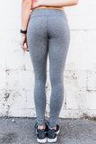 Full Length Yoga Leggings Heather Gray