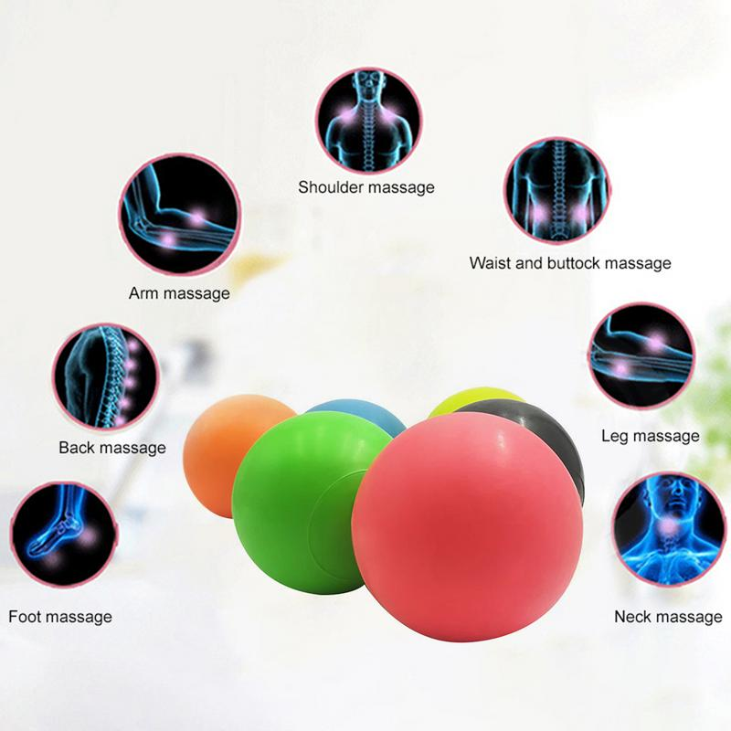63mm TPE Lacrosse Massage Ball