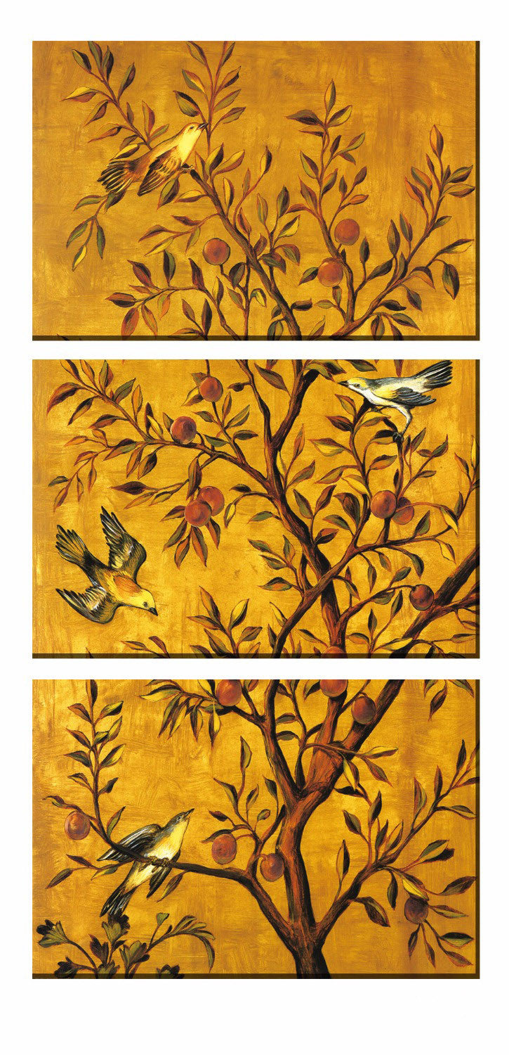 Canvas Flower&Bird Wall Painting