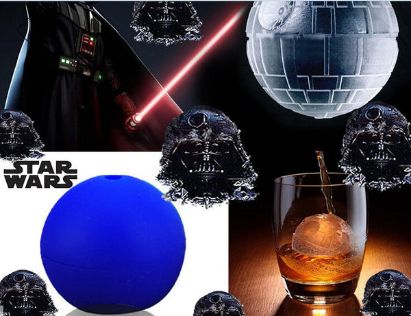 Set of 2 Star Wars Silicone Mold Balls for Ice & Chocolate, Home Goods Outlet