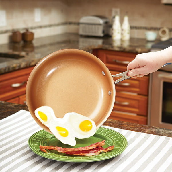 "10"" Non-stick Copper Frying Pan, Home Goods Outlet"