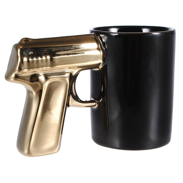 Ceramic Gun Coffee  Mug, Home Goods Outlet