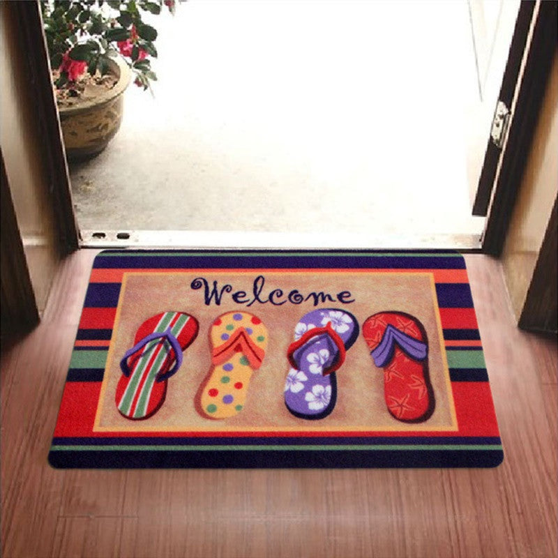 Flip Flop Summer Door Mat