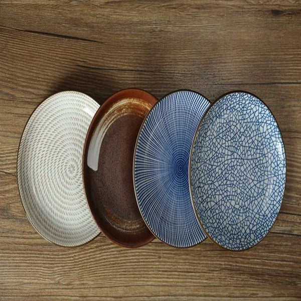 Geometric plate Set of 4, Home Goods Outlet