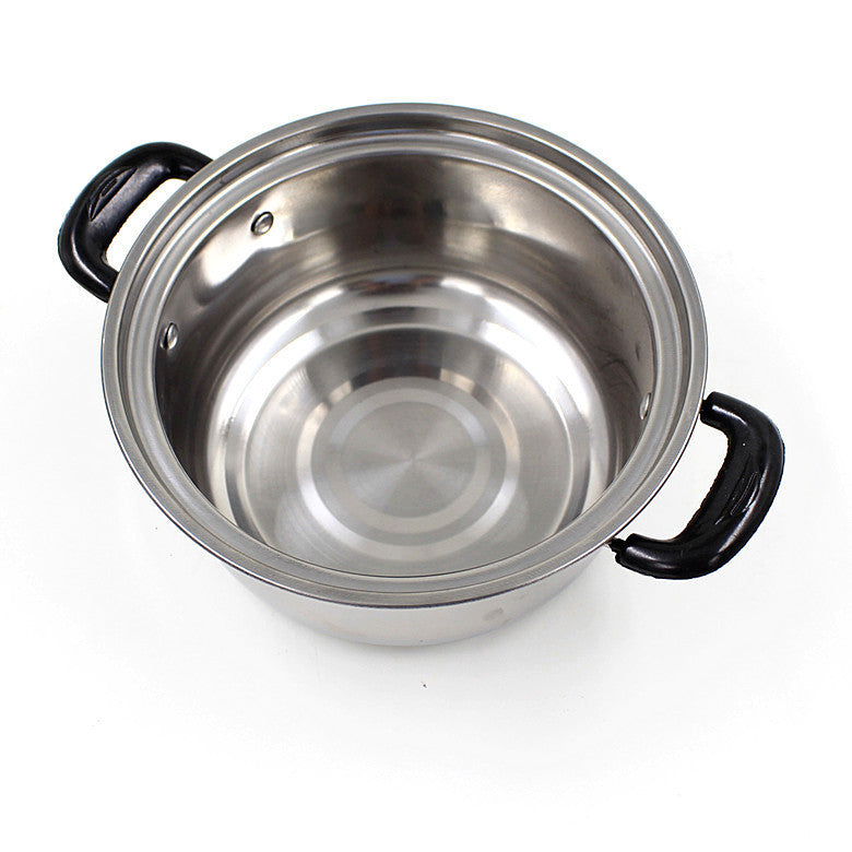 Set of 5 Pan with glass Lid
