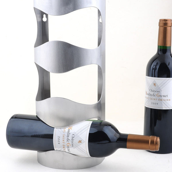 Amazing Stainless Steel Wine Holder, Home Goods Outlet