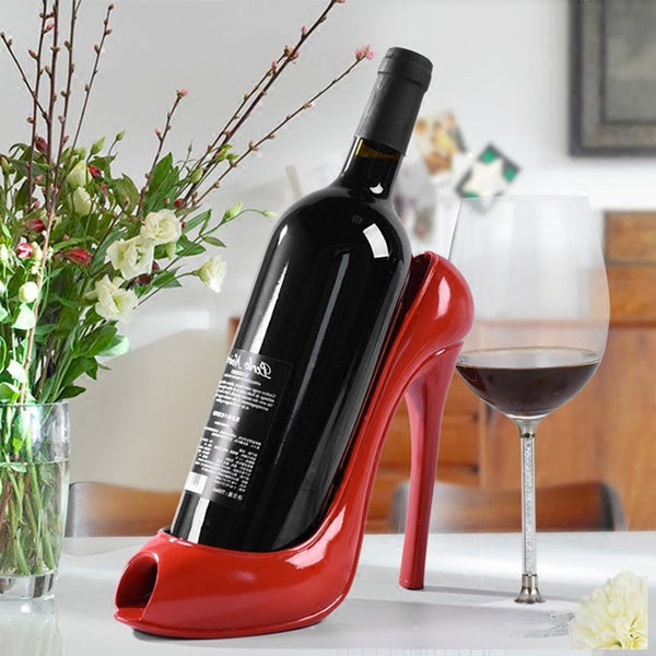 High Heel Shoe Wine Bottle Holder, Home Goods Outlet