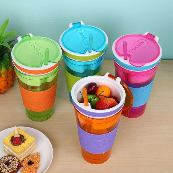 2 in 1 Snack & Drink Cup, Home Goods Outlet