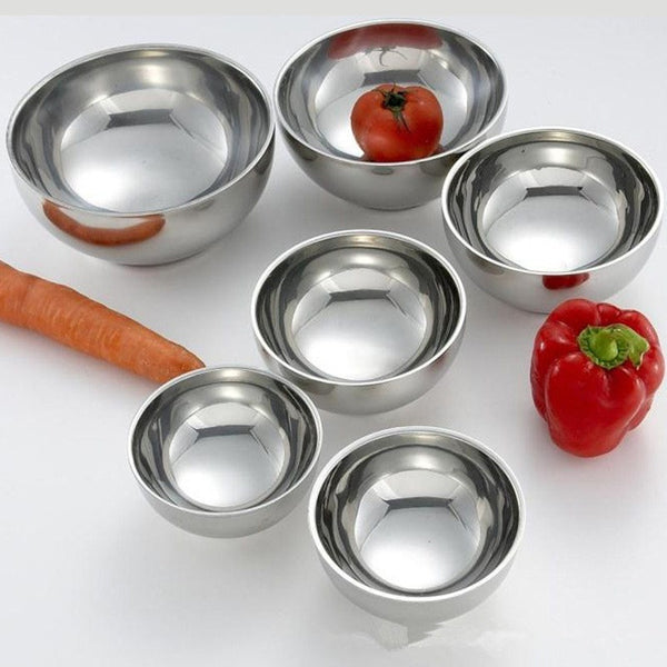 Set of 6 Stainless Steel Mixing Bowl, Home Goods Outlet