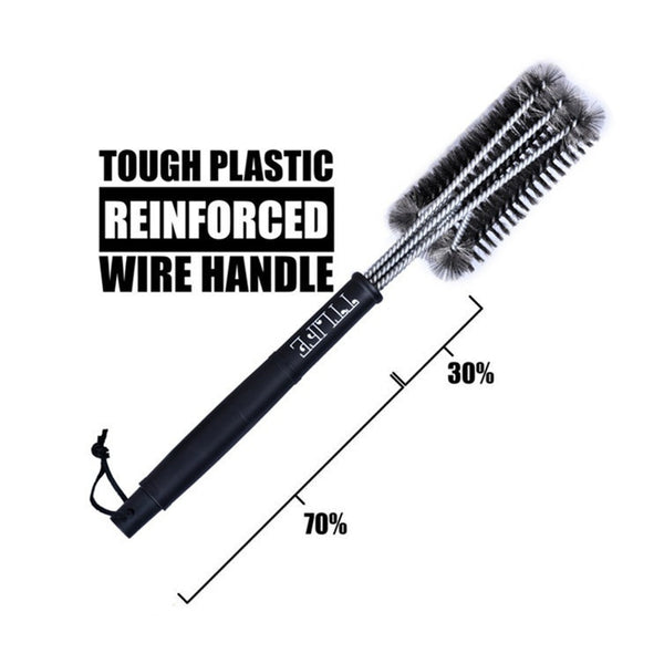 Stainless Steel BBQ Cleaning Brush, Home Goods Outlet