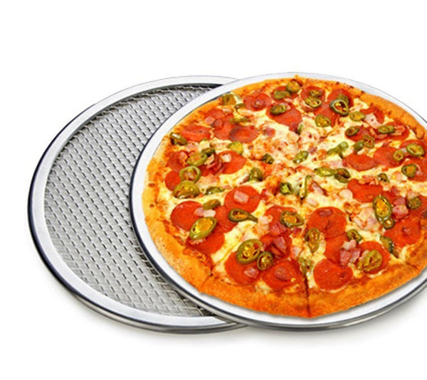 "12"" Pizza Pan with holes, Home Goods Outlet"