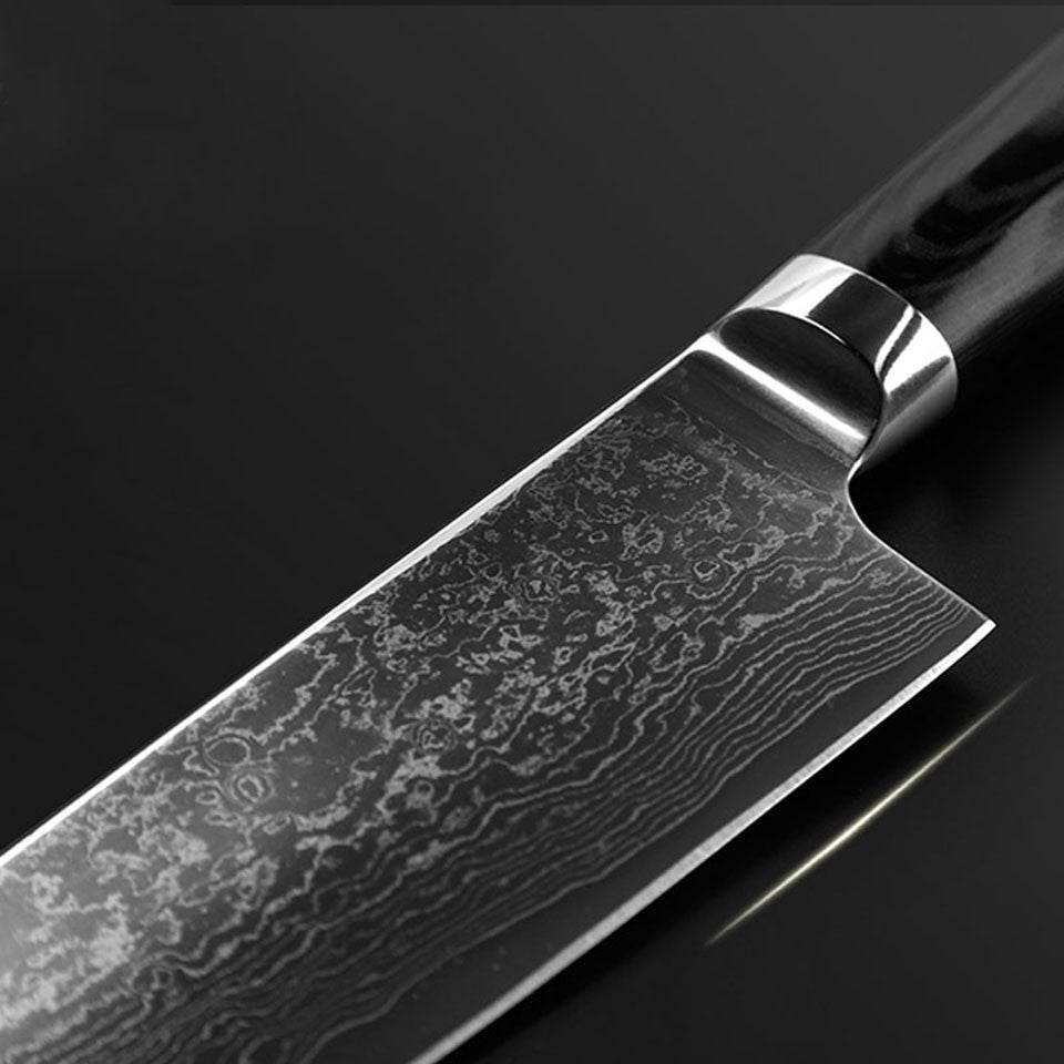 Damascus Chefs Knife - Blade  8 inch, Home Goods Outlet