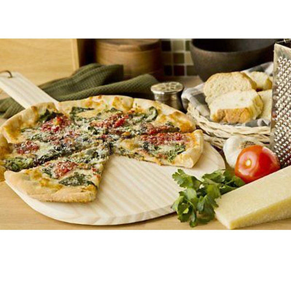 Wooden Round Pizza Tray, Home Goods Outlet