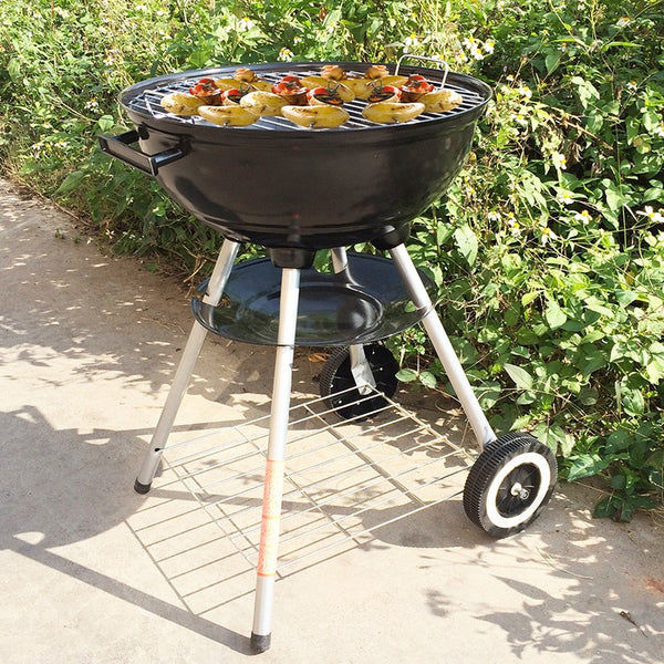 Four Legs Round Barbecue Grill 16 Inch, Home Goods Outlet