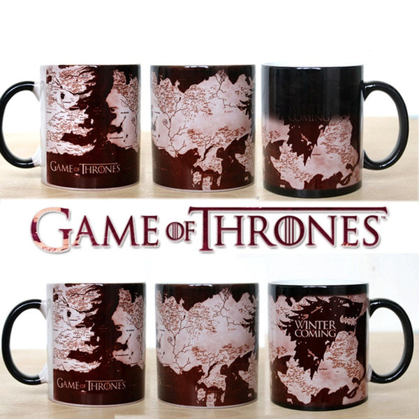 Winter Is Coming Heat Sensitive Mug, Home Goods Outlet