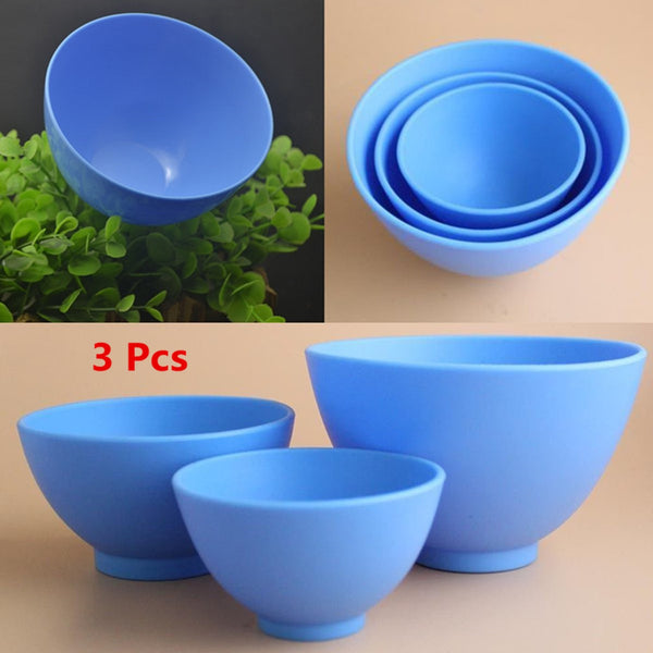 Set of 3 Nonstick Rubber Bowl, Home Goods Outlet