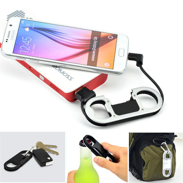 Bottle Opener, Keychain&Charger for Android Phone