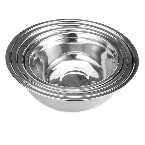 Set of 4 - Stainless Steel Mixing Bowl, Home Goods Outlet