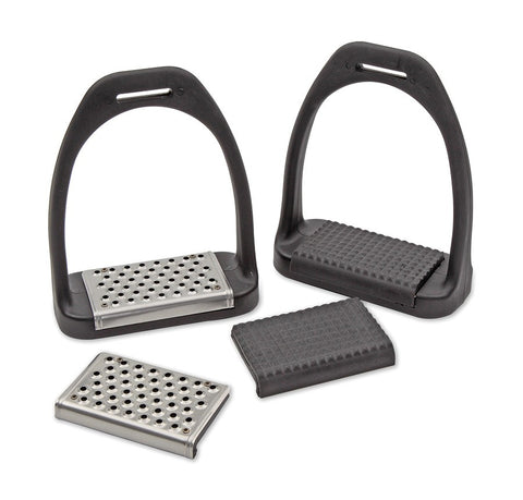 Shires Lightweight Stirrups with Interchangeable Treads