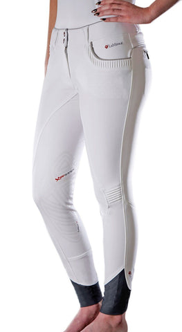 LeMieux Bascule Breeches - White/Grey