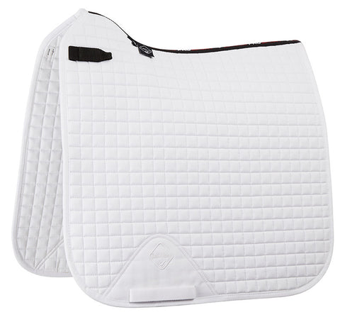LeMieux Pro Sport Dressage SQ Plain D - White