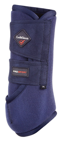 Lemieux Prosport Support Boots (pair) -Navy
