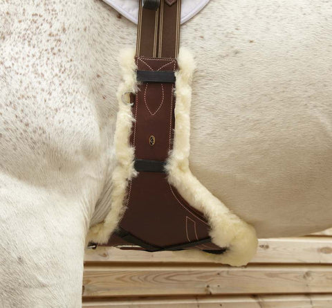 "LeMieux Lambskin Stud Guard Cover - Long (34"")"