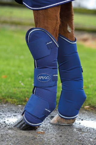 Amigo Travel Boots - Atlantic Blue/AB Ivory