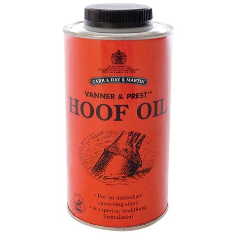 Vanner & Prest Hoof Oil - 2 Sizes